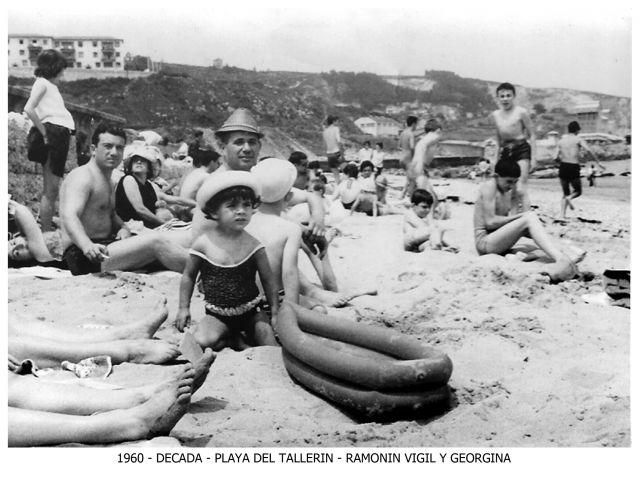 Playa del Tallerín (década de 1960)