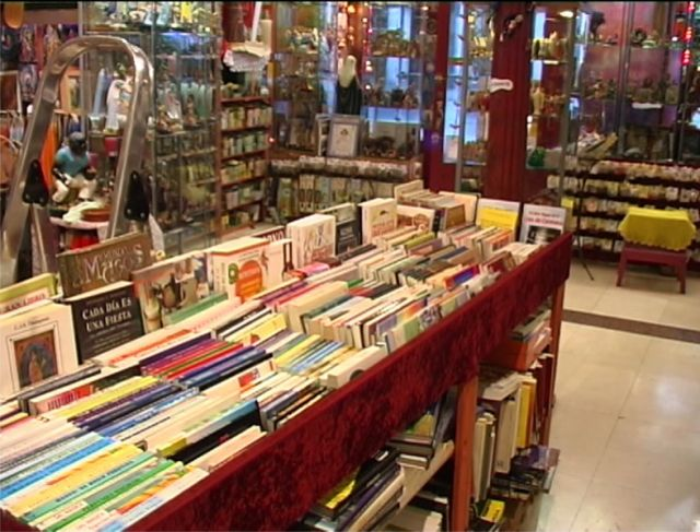 El interior de la tienda zona libros fotos de otros - Almacen de libreria ...