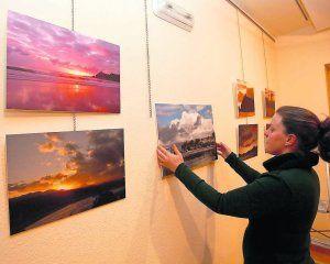 Exposición sobre los amaneceres riosellanos
