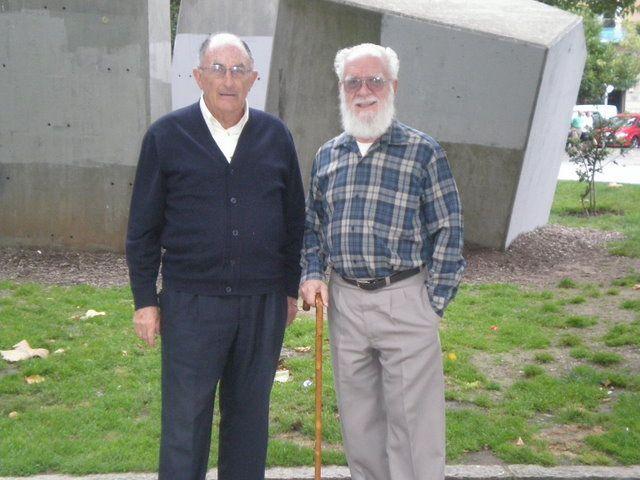 Carlos Roces y Félix Rubio Camín