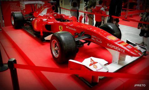 El coche de un Dios. Fernando Alonso.