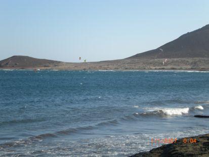 Skite surf en El Médano,Tenerife