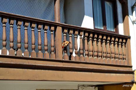 La balconada.