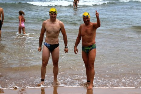 32º travesia playa san lorenzo
