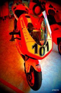 Ducati Superbikes.