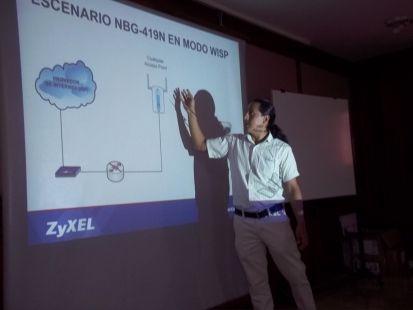 Capacitación Zyxel en Machala