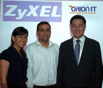 Visita de Zyxel a Ecuador