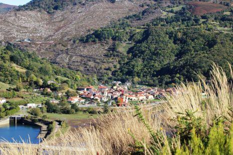 Rioseco desde lo alto de la montaña