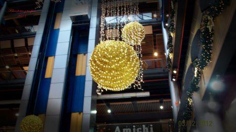 Alegria en el centro comercial