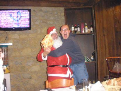 Juan Carlos y Papa Noel os desean un feliz 2013