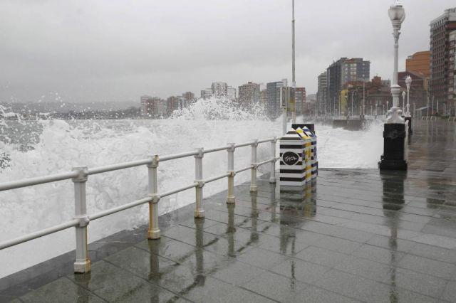 Las olas en gij n fotos de el tiempo - El tiempo gijon detallado ...