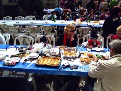 comida en la calle 7
