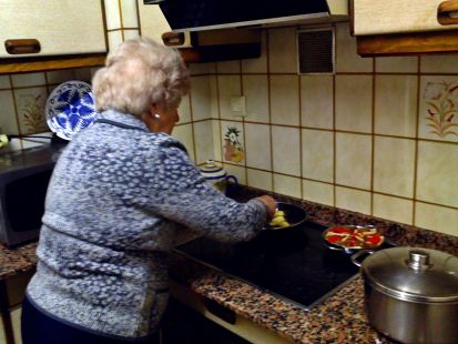 cocinera veterana