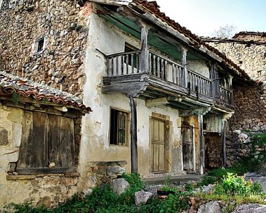 Vieja casa en Asiegu