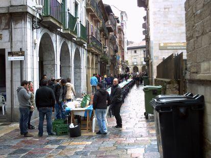 comida en la calle