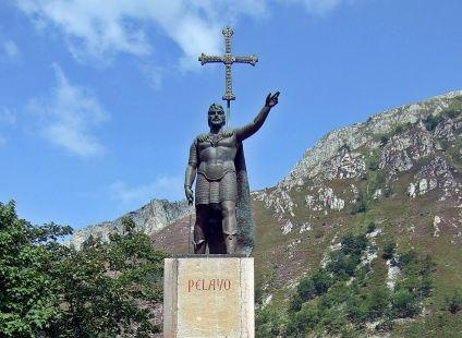 Pelayo rey de España