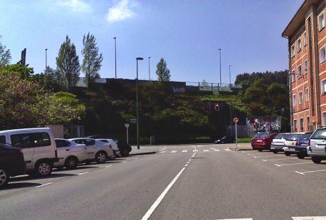 autopista por encima