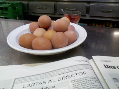 huevos de pita roxia