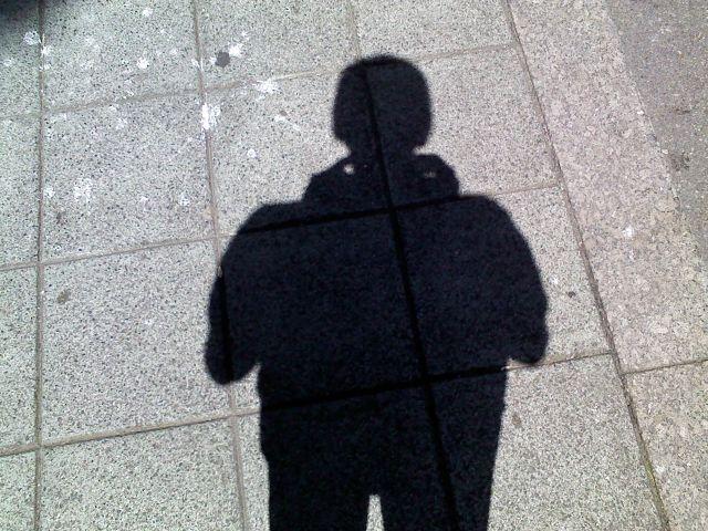 con mi sombra