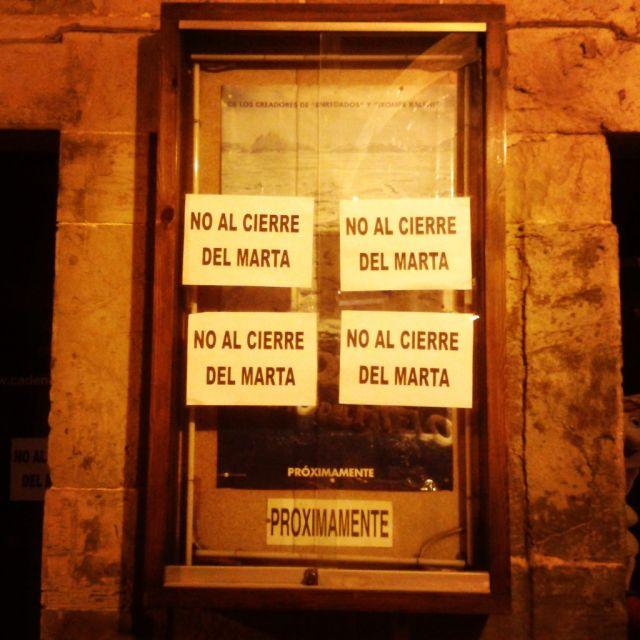 cierre de los cines Marta