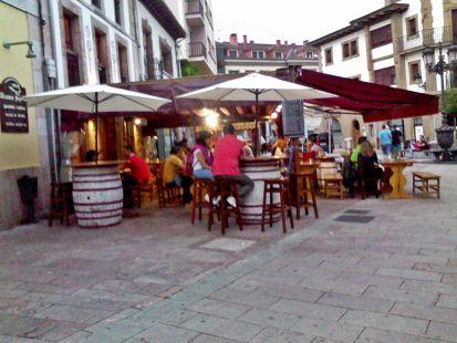 cangas de Onis.,terraza