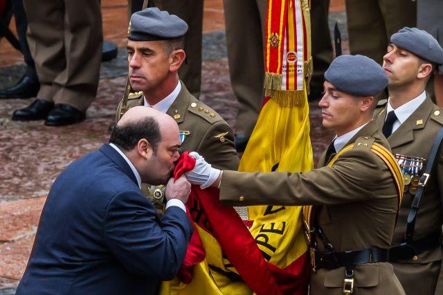 Jura de Bandera del Alcalde Agustin Iglesias Caunedo en la Plaza de la Catedral el pasado Viernes día 15 de Noviembre de 2013.