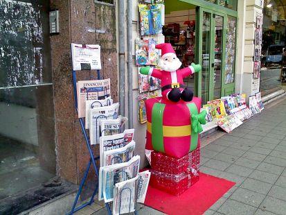 Navidad en el kiosko