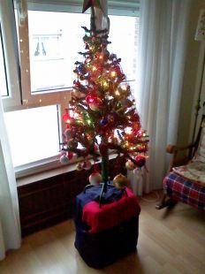 esperando regalos