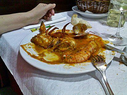 plato marisco