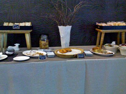 buffet en el hotel Cecos