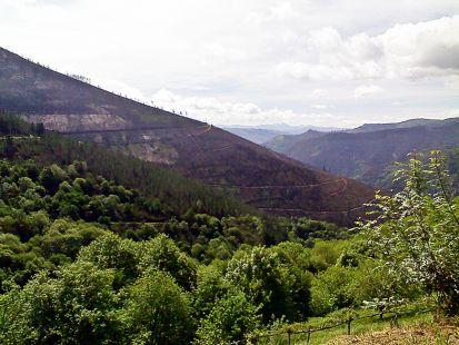 paisaje desde Lugo
