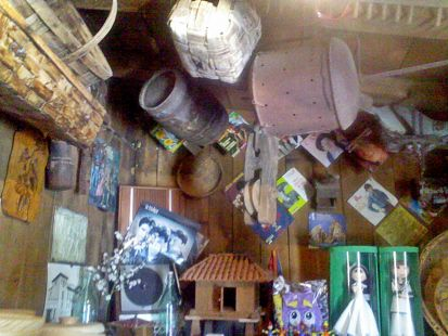 interior de taller de artesania en Pambley