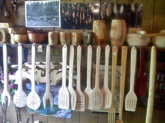 utensilios artesanos de Pambley