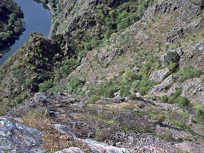 acantilado fluvial