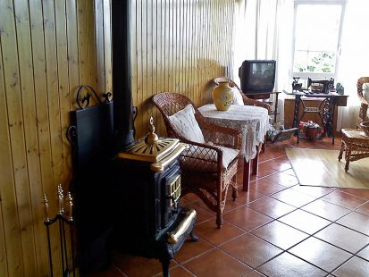 salon de relax en Casa Elena