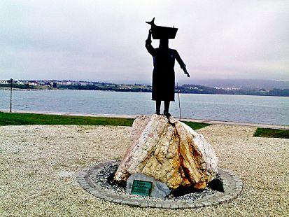 monumento a las pescadoras