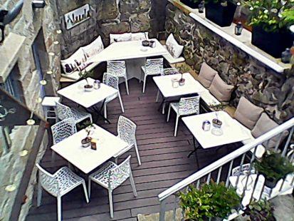 terraza amueblada