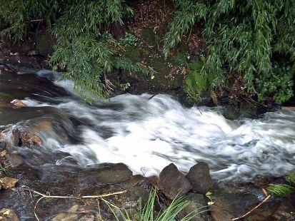 ruta de los Horreos y agua