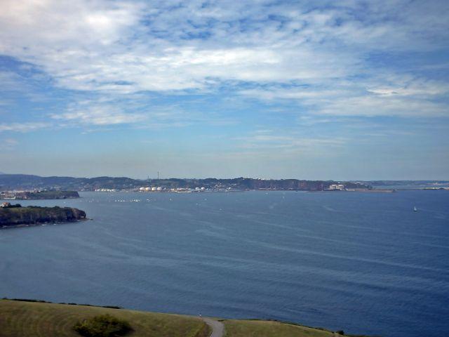 vista de la costa