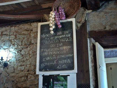 menu Asturianu