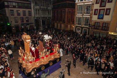 La Madrugá. Hermandad de los Estudiantes de Oviedo