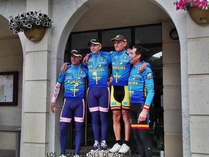 Ciclismo Master 2015