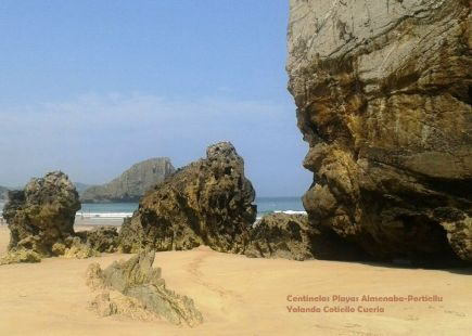Centinelas Playa Almenaba-Portiellu